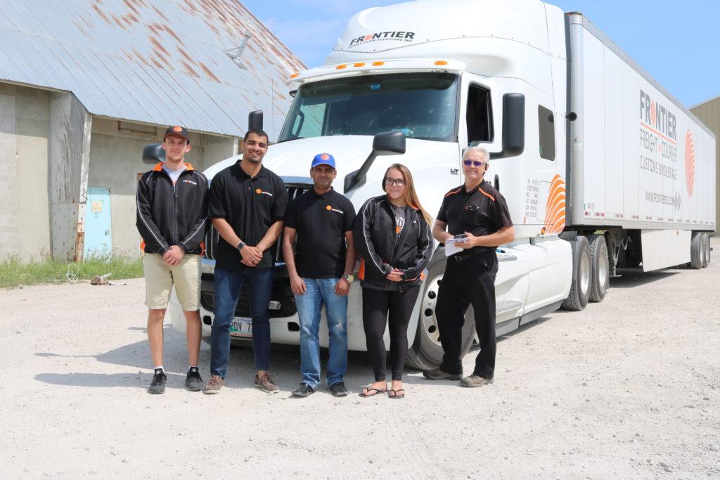 Frontier Ontario to Manitoba Truck Teams